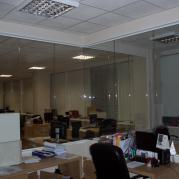 Прозрачное зонирование офиса