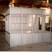 Кабина охраны каркас (из алюминия)